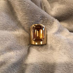 Nordstrom Ring - Brown Stone and Gold